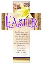 Easter Cross Bookmark - Luke 4