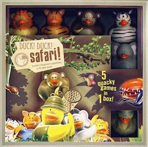 Bog, hardback Duck! Duck! Safari! af Ape Games