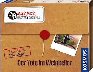 Murder Mystery Case File Der Tote im Weinkeller