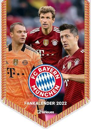 FC Bayern München 2022 - Mini-Bannerkalender - 21x29,7