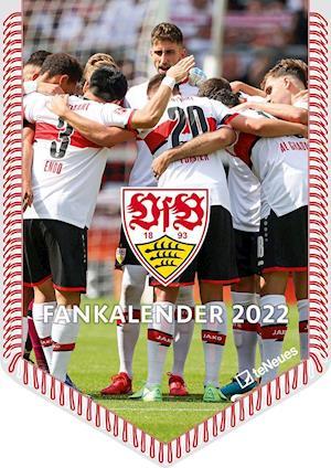 VfB Stuttgart 2022 - Bannerkalender - 29,7x42