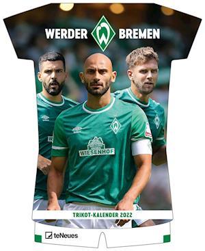 Werder Bremen 2022 - Trikotkalender - 34,1x42