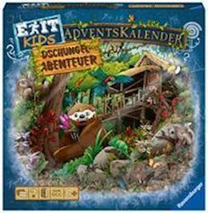 EXIT Adventskalender kids - Dschungel-Abenteuer - 24 Rätsel für EXIT-Begeisterte ab 6 Jahren