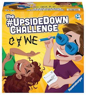 Ravensburger Kinderspiele 20672  - The #UpsideDownChallenge Game - Spaß- und Aktionsspiel für 2 bis 6 Spieler ab 7 Jahren