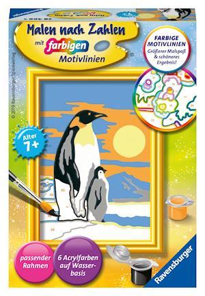 Süße Pinguine - Mal-Set