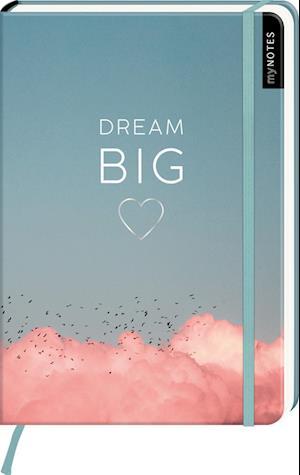 myNOTES Notizbuch A5: Dream Big - notebook medium, dotted - für Träume, Pläne und Ideen / ideal als Bullet Journal oder Tagebuch