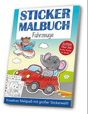 Stickermalbuch: Fahrzeuge
