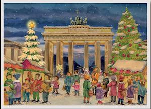 """Adventskalender """"Brandenburger Tor Berlin"""""""