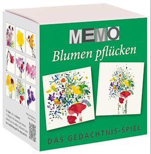 Memo-Spiel - Blumen pflücken