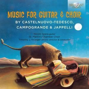 Music For Guitar&Choir By Castelnuovo