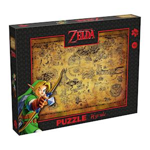 Puzzle Zelda Hyrule field, 1000 Teile