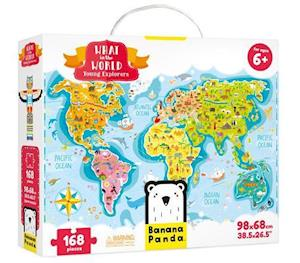 What in the World. Young Explorers Age 6+ Puzzle