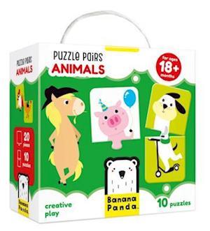 Puzzle Pairs Animals Age 18m+ Puzzle