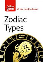 Zodiac Types af Collins Uk