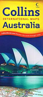Australia, Collins International Map 1:5 mill.