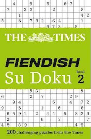 The Times Fiendish Su Doku Book 2