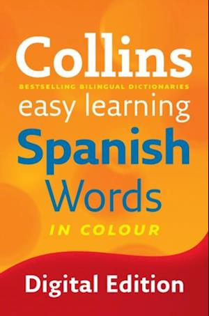 Easy Learning Spanish Words (Collins Easy Learning Spanish) af Collins