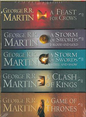 Game of Thrones (PB A-format) Box - (Vol. 1-4) - (5 books) - Song of Ice and Fire