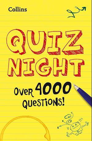 Bog paperback Collins Quiz Night af Collins