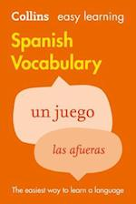Easy Learning Spanish Vocabulary (Easy Learning, nr. 03)