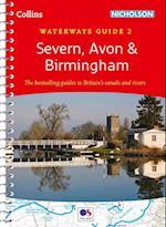 Severn, Avon & Birmingham af Collins Maps
