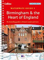 Birmingham & the Heart of England No. 3 (Collins/Nicholson Waterways Guides, nr. 3)