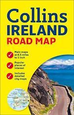 Collins Ireland Road Map af Collins Uk