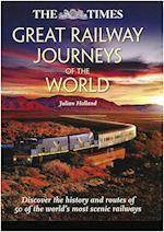 Great Railway Journeys of the World af Julian Holland