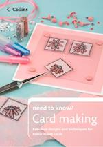 Cardmaking (Collins Need to Know?)