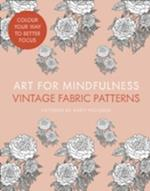 Art for Mindfulness: Vintage Fabric Patterns af Andrew Paciorek