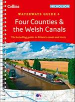 Four Counties & the Welsh Canals No. 4 (Collins/Nicholson Waterways Guides, nr. 4)