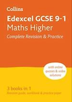 Edexcel GCSE Maths Higher All-in-One Revision and Practice (Collins GCSE Revision and Practice New Curriculum)