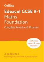 Edexcel GCSE Maths Foundation All-in-One Revision and Practice (Collins GCSE Revision and Practice New Curriculum)