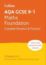 AQA GCSE Maths Foundation All-in-One Revision and Practice (Collins GCSE Revision and Practice New Curriculum)