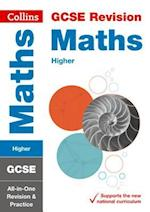 GCSE Maths Higher All-in-One Revision and Practice (Collins GCSE Revision and Practice New Curriculum)