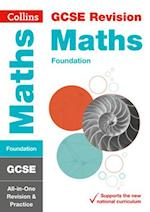GCSE Maths Foundation All-in-One Revision and Practice (Collins GCSE Revision and Practice New Curriculum)