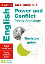 AQA GCSE Poetry Anthology: Power and Conflict Revision Guide (Collins GCSE Revision and Practice New Curriculum)