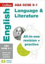 AQA GCSE English Language and English Literature All-in-One Revision and Practice (Collins GCSE Revision and Practice New Curriculum)