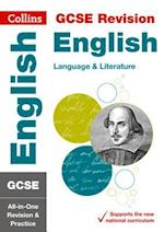 GCSE English Language and English Literature All-in-One Revision and Practice (Collins GCSE Revision and Practice New Curriculum)