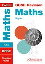 GCSE Maths Higher Revision Guide (Collins GCSE Revision and Practice New Curriculum)