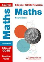 Edexcel GCSE Maths Foundation Revision Guide (Collins GCSE Revision and Practice New Curriculum)