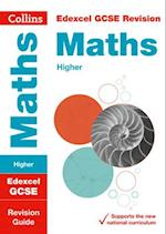 Edexcel GCSE Maths Higher Revision Guide (Collins GCSE Revision and Practice New Curriculum)