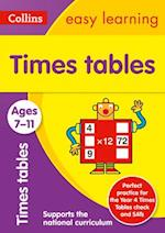 Times Tables Ages 7-11: New Edition (Collins Easy Learning KS2)