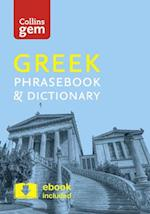 Collins Greek Phrasebook and Dictionary Gem Edition af Collins Dictionaries