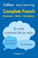 Easy Learning French Complete Grammar, Verbs and Vocabulary (3 books in 1) af Collins Dictionaries