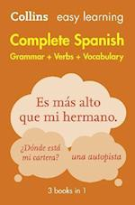 Easy Learning Spanish Complete Grammar, Verbs and Vocabulary (3 books in 1) af Collins Dictionaries
