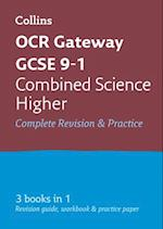 OCR Gateway GCSE Combined Science Higher All-in-One Revision and Practice (Collins GCSE Revision and Practice New Curriculum)