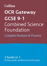 OCR Gateway GCSE Combined Science Foundation All-in-One Revision and Practice (Collins GCSE Revision and Practice New Curriculum)