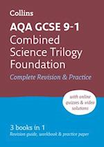 AQA GCSE Combined Science Trilogy Foundation All-in-One Revision and Practice (Collins GCSE Revision and Practice New Curriculum)