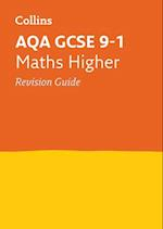 AQA GCSE Maths Higher Revision Guide (Collins GCSE Revision and Practice New Curriculum)